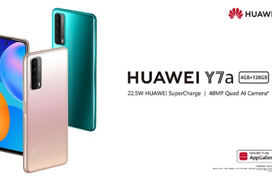 Huawei annonce le tout nouveau Huawei Y7a