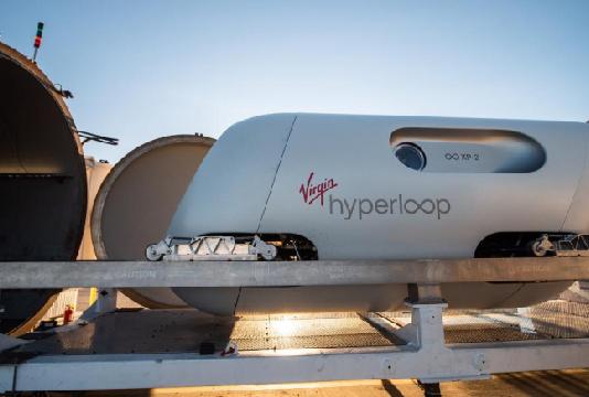 Train du futur : premier test avec passagers pour Virgin Hyperloop