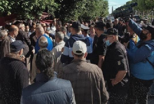 Bardo: Dispersion des manifestants et arrestation de certains d'entre eux