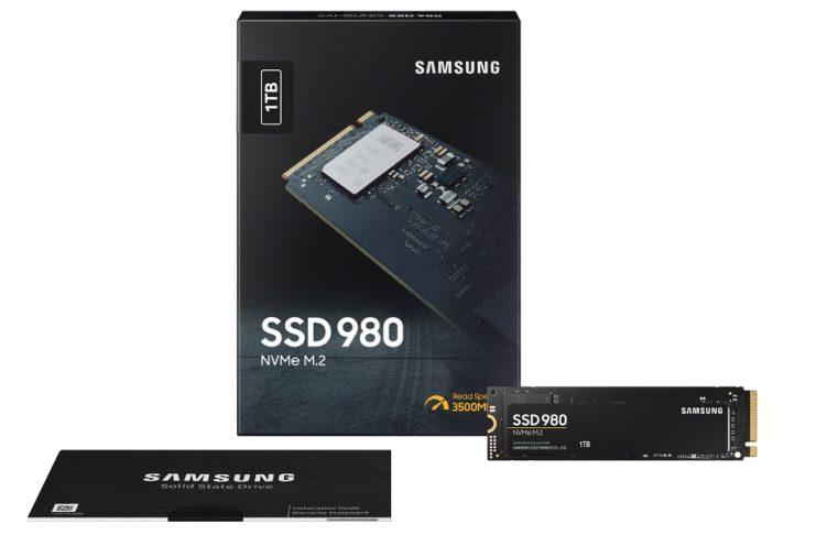 Le SSD 980 NVMe de Samsung allie vitesse et prix abordable