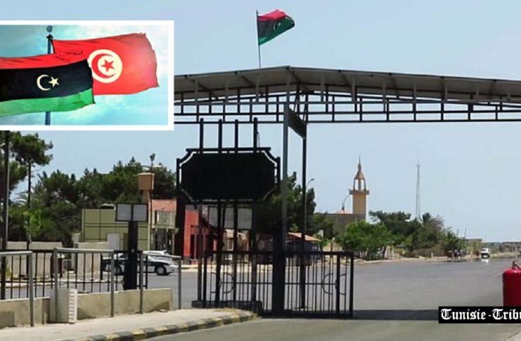 Réouverture du poste frontalier de Ras Jedir pour uniquement le transport des marchandises