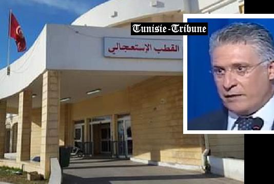 Nabil Karoui à l'hôpital Mongi Slim pour évaluer son état de santé : son retour à la prison de Mornaguia dépendra de ces examens