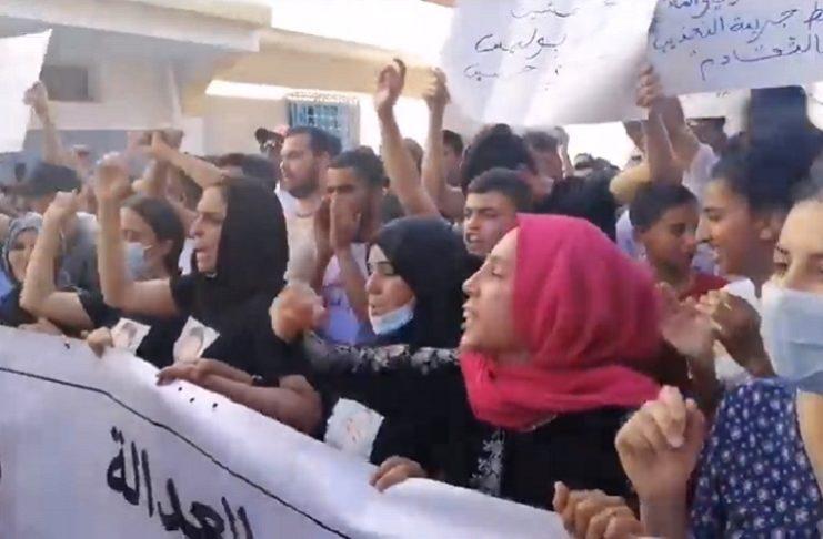 Les habitants de Sidi Hassine manifestent contre les violences policières