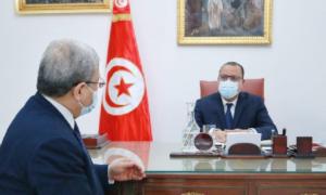 Méchichi s'entretient avec Jarandi à la Kasbah autour de ses visites et celles du président à l'étranger