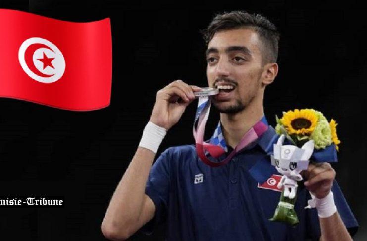 J.O. Tokyo 2020 : médaillé d'argent en taekwondo, Khalil Jendoubi le plus jeune médaillé tunisien de l'histoire