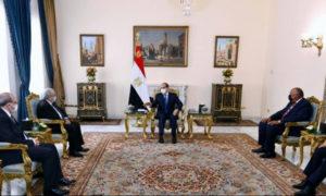 L'Egypte et l'Algérie apportent leur soutien ''absolu'' à Kais Saïed