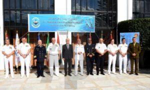 Clôture de la réunion des chefs d'État-major des Marines des pays 5+5