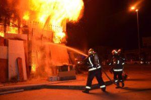Incendie au siège de l'Union Régionale de Solidarité Sociale à Kasserine : Ouverture d'une enquête