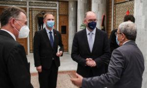 Jerandi reçoit le ministre d'Etat allemand aux Affaires étrangères