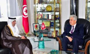 Le ministre de la Défense reçoit l'ambassadeur de l'Arabie en Tunisie
