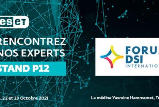 ESET Afrique Francophone est présent à la 7ème édition du Forum International des DSI