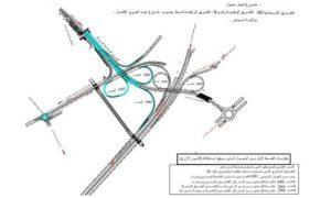 Ouverture d'une partie de l'échangeur X2-Route nationale n°9 du gouvernorat de Tunis