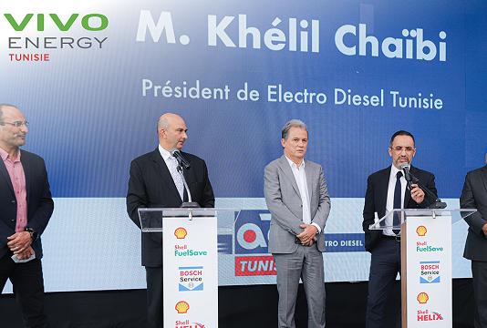 L'expertise Bosch au cœur des stations-services Shell