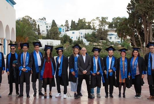 L'Université Dauphine I Tunis célèbre la diplômation de la première promotion de son exécutive master management et politiques de la culture