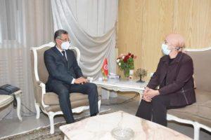 Réunion de coordination entre les ministres de l'Intérieur et de la Justice