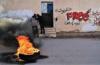 Menzel Bouzayane (Sidi Bouzid) : manifestations violentes et intervention de l'armée... Incendie du poste de la Garde Nationale et d'une voiture !